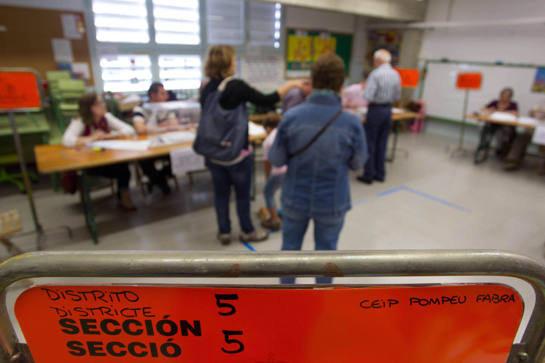 La participació a les Eleccions Generals del 10 de novembre de 2019 a Reus a les 14:00h