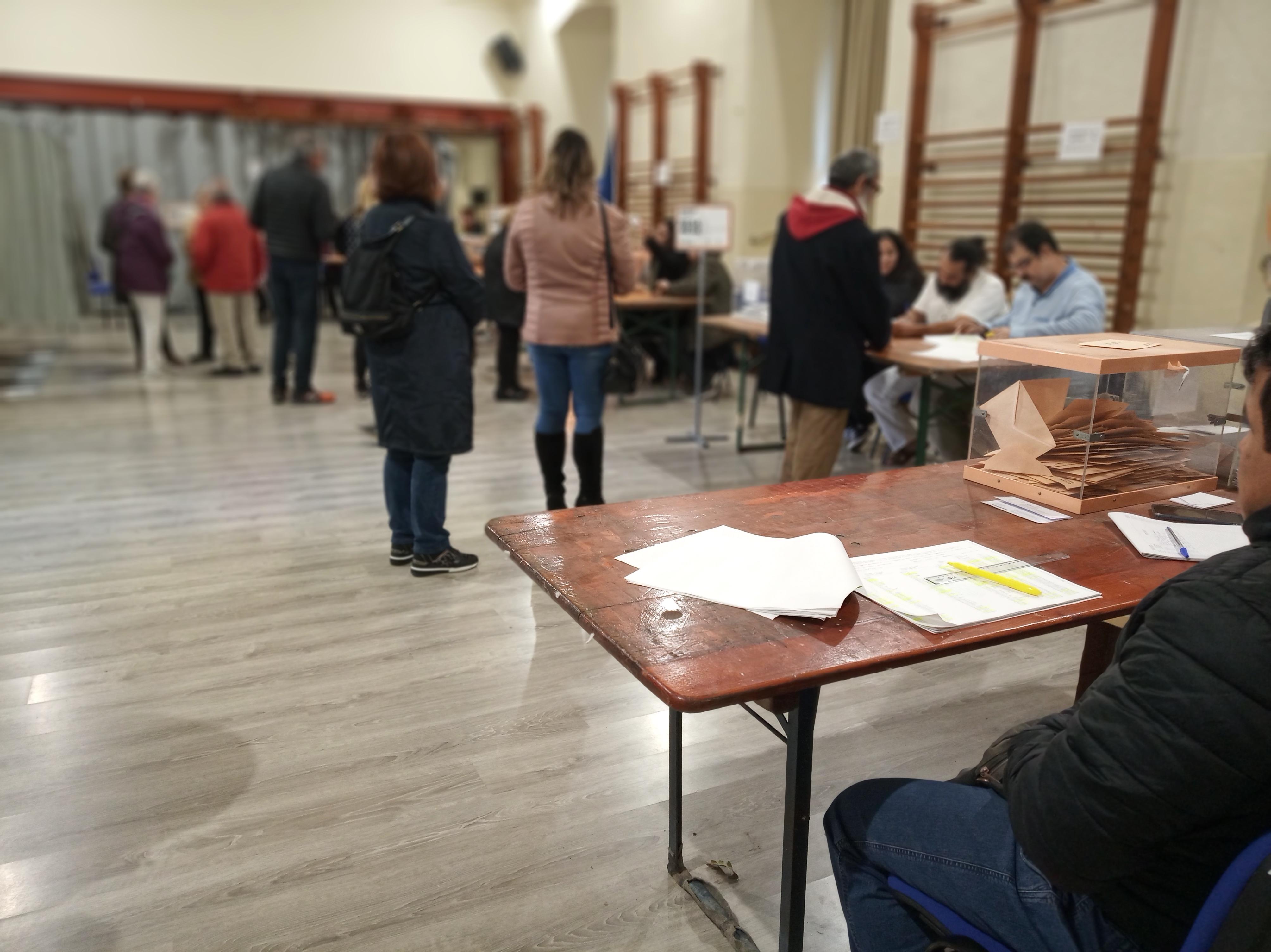 La participació a les Eleccions Generals del 10 de novembre de 2019 a Reus a les 20:00h