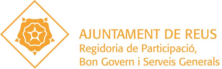 Logotip de la Regidoria de Participació, Bon Govern i Serveis Generals