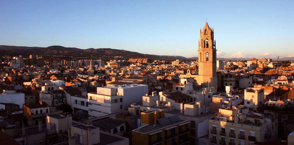Vista de la ciutat de Reus