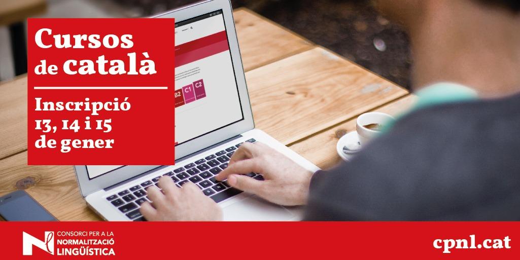 El Consorci per a la Normalització Lingüística engega un nou període d'inscripcions als cursos de català. Els dies 11 i 12 de gener ...