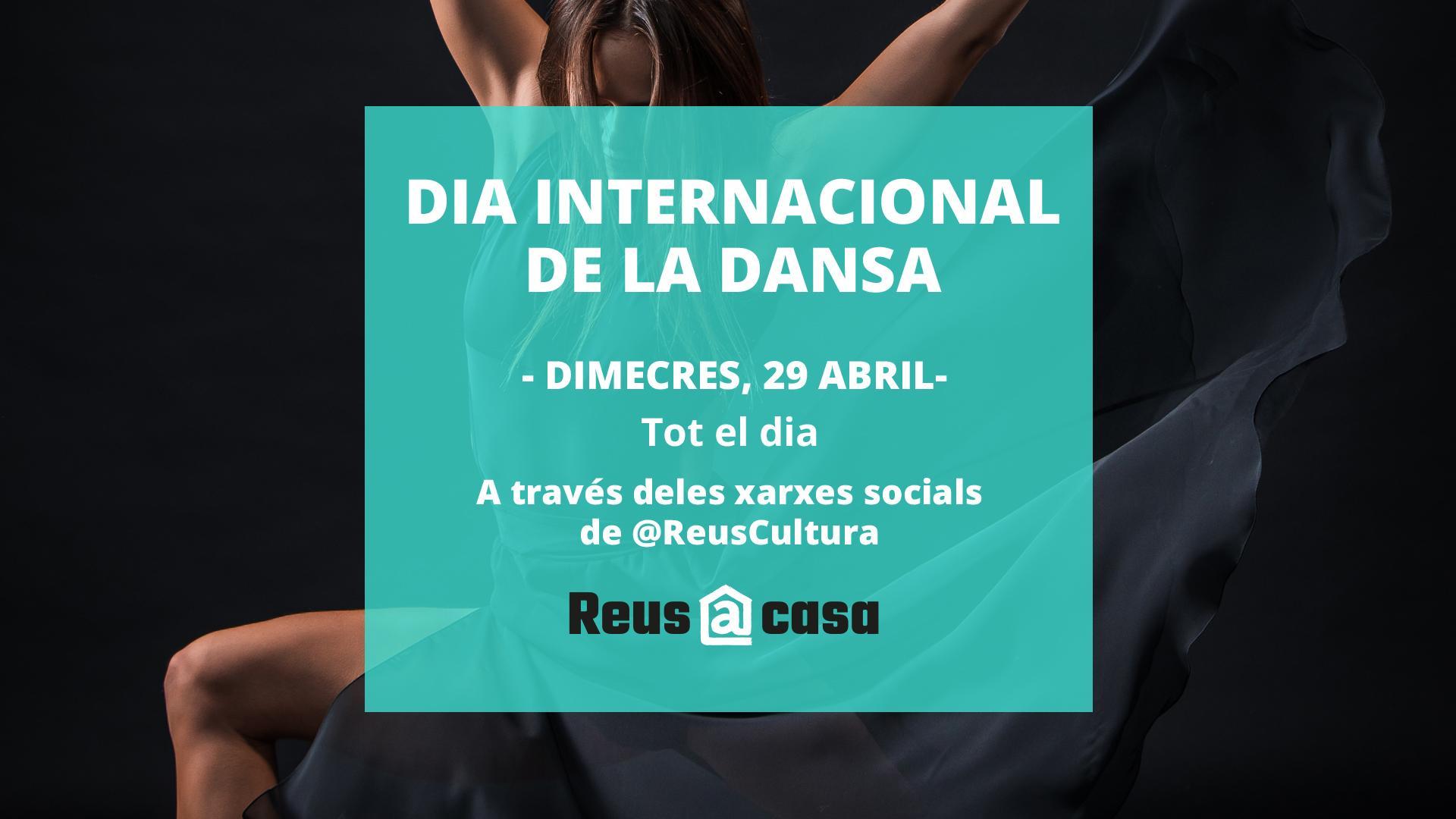 La ciutat de Reus s'ha bolcat en la commemoració del Dia Internacional de la Dansa que serà aquest dimecres 29 d'abrili ha passat a o...