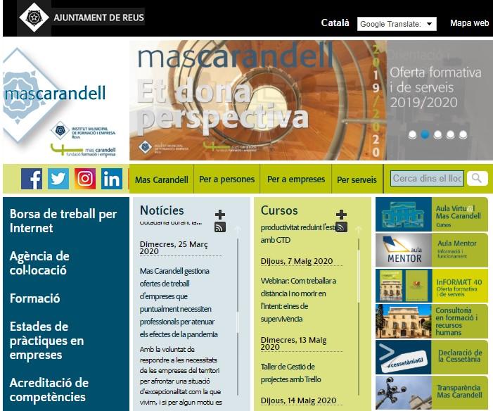 Fins dijous 30 d'abril al matí hi ha temps d'inscriure's al curs de Màrquetig digital per al comerç local, que posa a l'abast de...