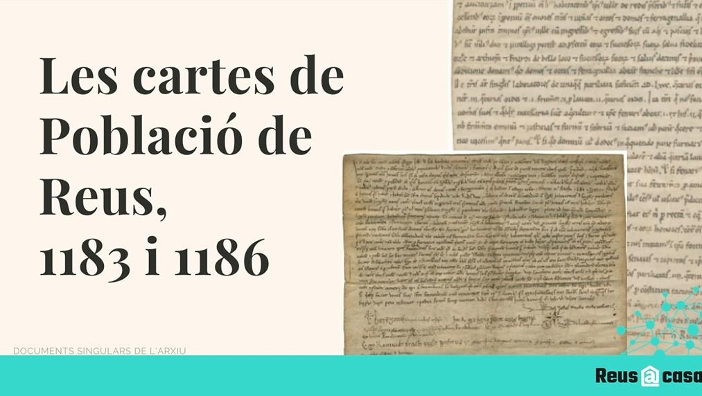 L'Arxiu Municipal de Reus finalitza el cicle Documents singulars amb la presentació de les Cartes de població. Durant un mes i a través ...