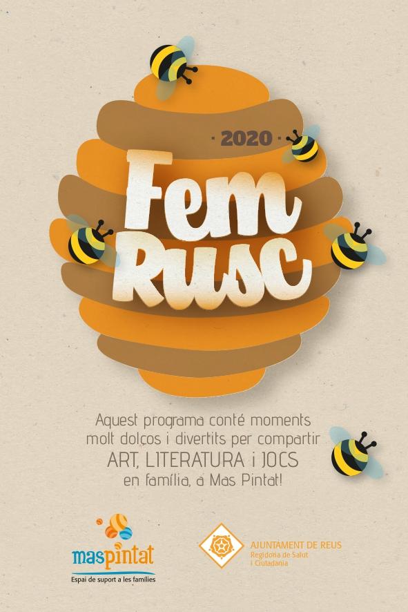 El programa Fem Rusc de l'espai de suport a les famílies Mas Pintat de l'Ajuntament de Reus clou el curs avui dimarts dia 9 de juny, a...