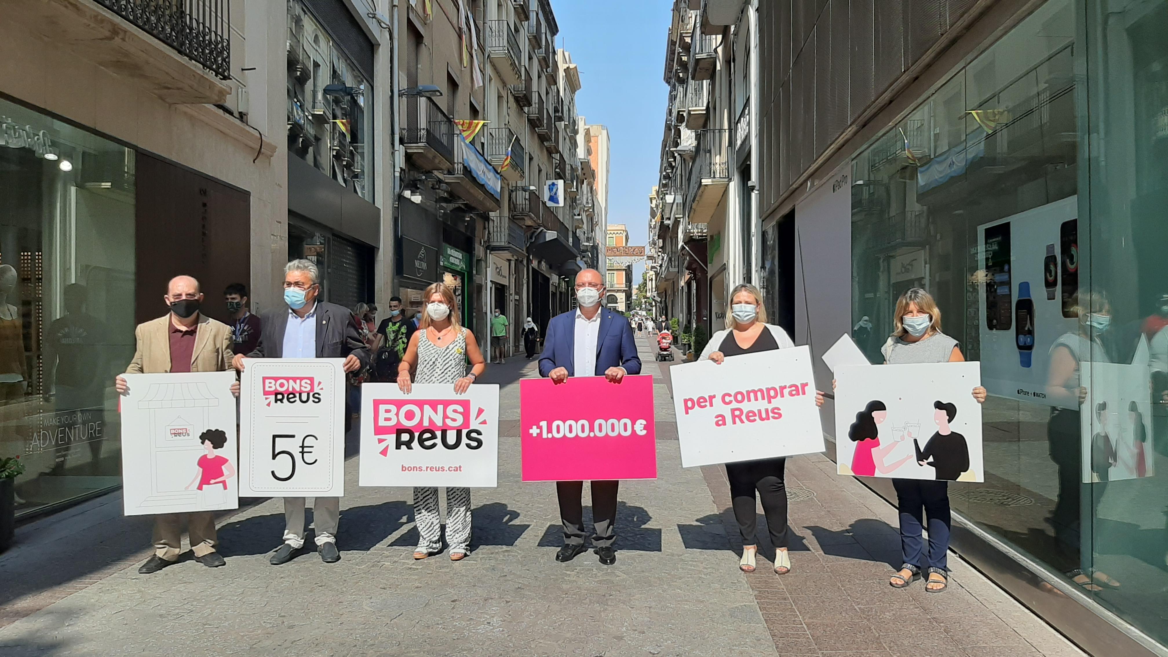 L'Ajuntament de Reus dóna avui el tret de sortida a la més ambiciosa campanya de suport al comerç, restauració i serveis local feta f...