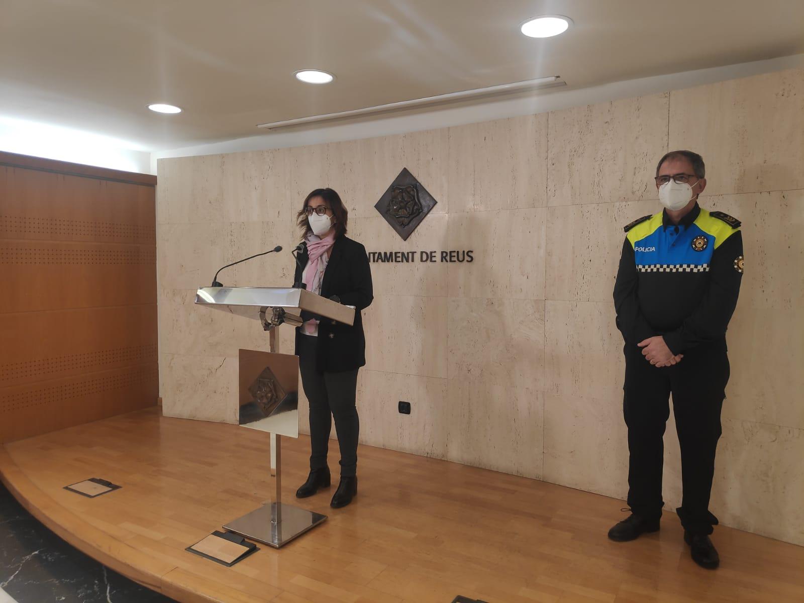 La Guàrdia Urbana de Reus posa en marxa aquest dijous, 10 de desembre el dispositiu de seguretat de Nadal, amb l'objectiu de prevenir i re...
