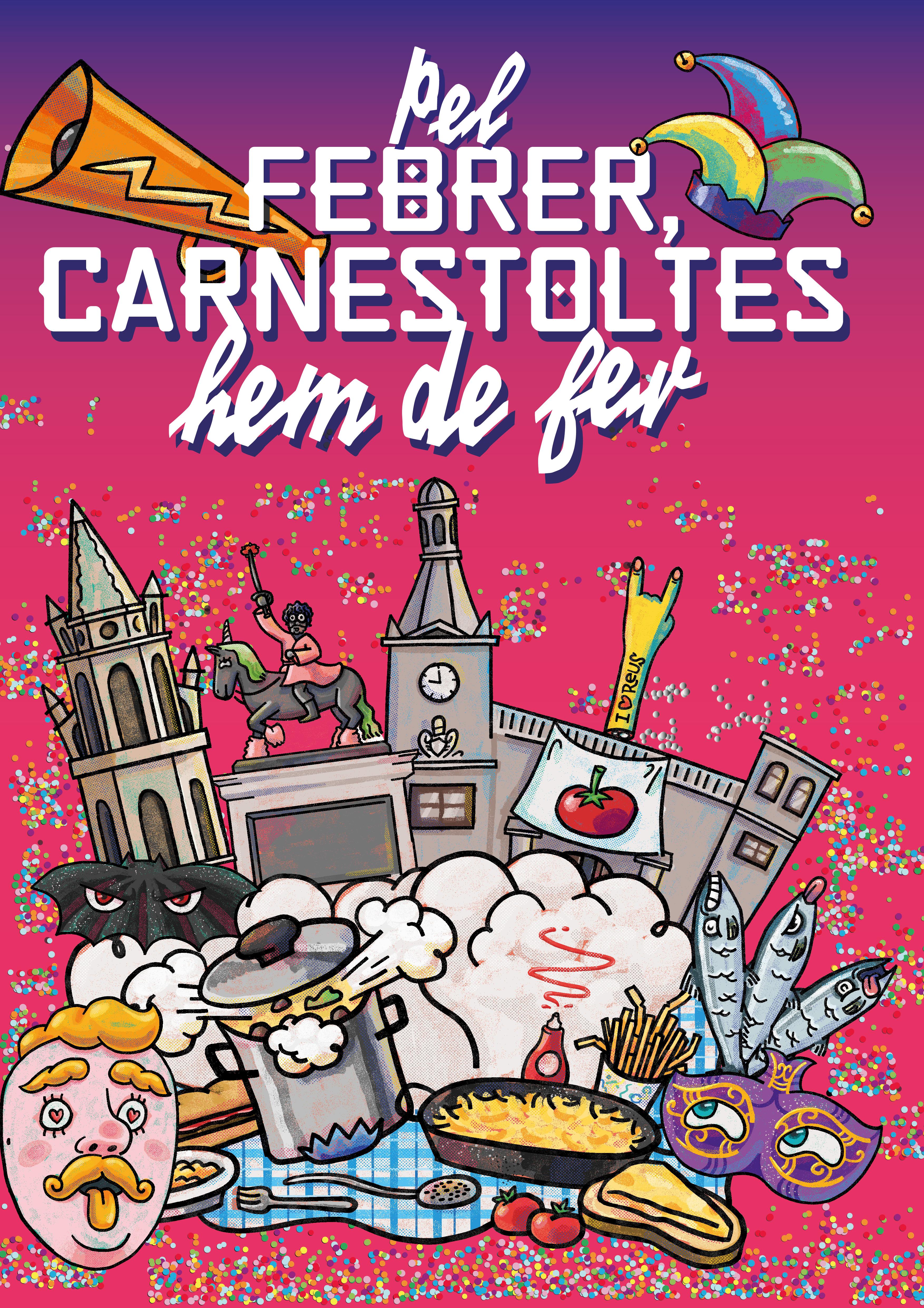Una mostra sobre el Carnaval centrarà els actes d'aquest 2021 a Reus. Les circumstàncies actuals arran de la pandèmia de la COVID19 co...