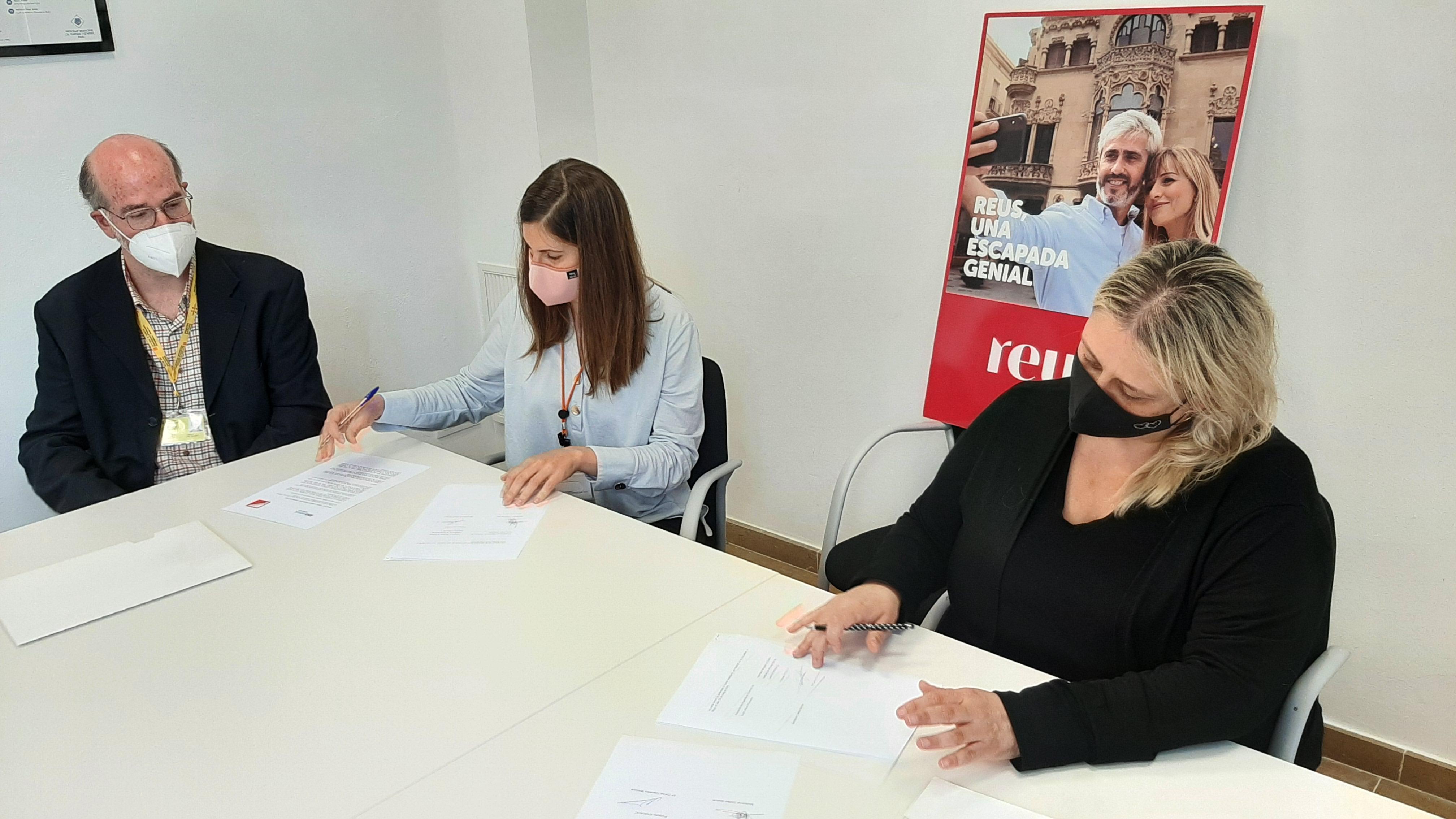 Aquest dimarts 25 de maig, l'Agència de Promoció de Ciutat de Reus ha mostrat el seu suport a l'Associació de Guies Habilitats per l...