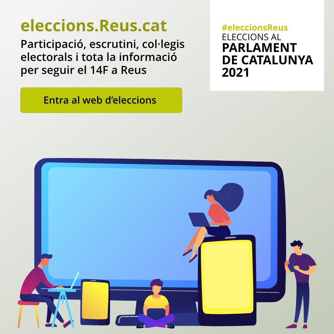 Constituïdes les 120 meses electorals a Reus per a les eleccions al Parlament de Catalunya 2021