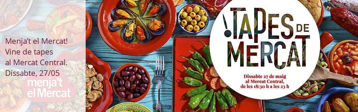 Accedeix a Menja't el mercat: tapes