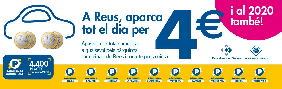 Accedeix a Aparcaments municipals per 4 euros