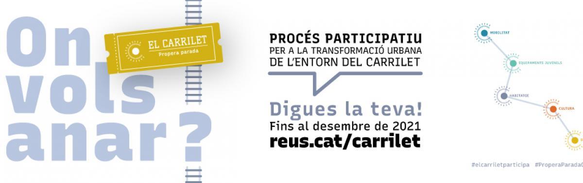 Accedeix a Carrilet, procés participatiu