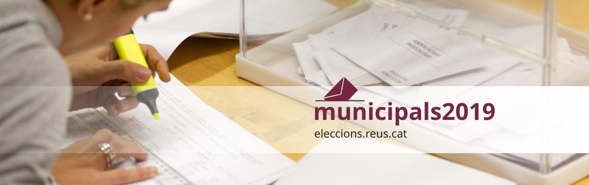 Accedeix a Eleccions Municipals 2019