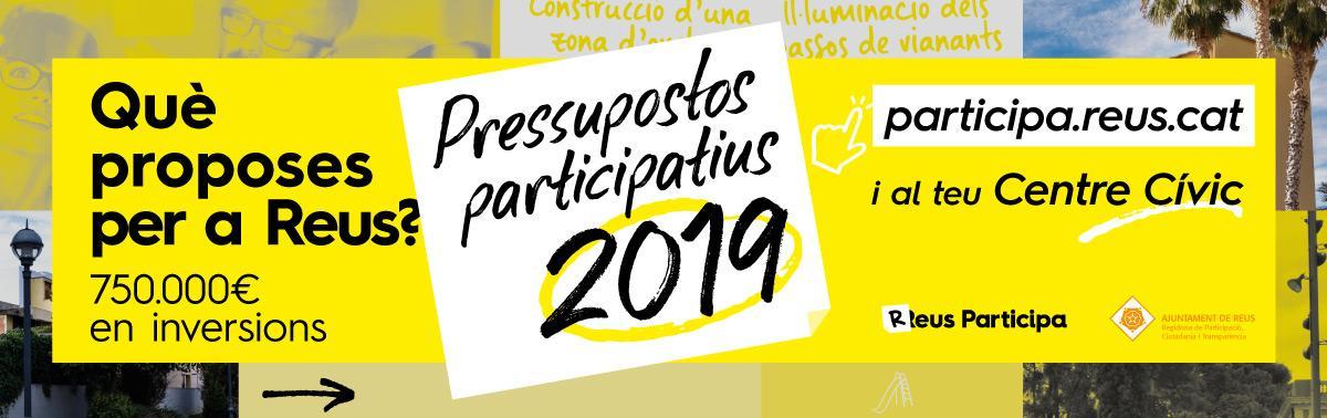 Accedeix a Pressupostos participatius. Any 2019