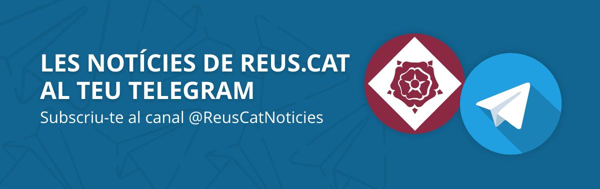 Accedeix a Reus.cat a Telegram