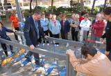 L'Espai d'activitat física per a la salut a la plaça Juli Garola