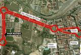 Imatge del trajecte de la línia 34 de bus de Reus