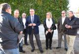 Visita de l'alcalde de Reus i els regidors a la urbanització Blancafort.