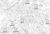 Plànol de les zones d'aparcament