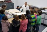 Alumnes de 3r de l'escola La Vitxeta