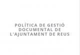 Caràtula documents de Política de gestió documental