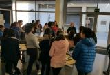 Visita dels alumnes de l'escola Sant Josep