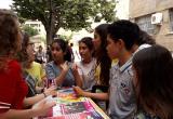 Imatge d'una campanya realitzada a l'Institut Baix Camp aquest curs dins el programa EPI Jove
