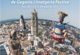 Cartell de la trobada de gegants de Reus prevista a l'octubre de 2017