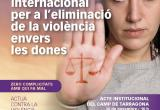 Cartell Dia Internacional Eliminació Violència envers les Dones Reus 2018