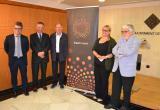 Imatge de l'acte de presentació de la 10ª edició dels Premis Gaudí Gresol