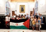 Recepció institucional nens saharauís 2019