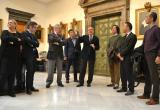 Sessió de treball entre l'Ajuntament i empresaris japonesos