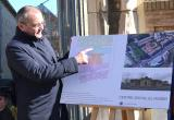 Foto de la roda de premsa de presentació del projecte