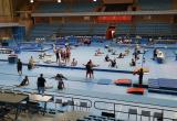 Participants als Jocs del Mediterrani al Pavelló Olímpic de Reus