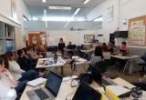 La directora del CNL, informat alumnes de Mas Carandell sobre el cursos de català i el Servei d'Assessorament Lingüístic
