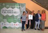 Imatge d'arxiu de la presentació de les activitats a favor de l'Alzheimer
