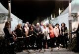 L'alcalde en el moment d'inaugurar la Festa de l'Oli