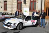 Foto dels participants a la presentació del Rally Costa Daurada Legend Reus