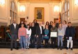 Foto de grup dels instituts que han rebut els diplomes Xarxa per a la Igualtat de Gènere