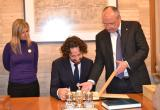 Visita institucional del Cònsol general de França a Barcelona