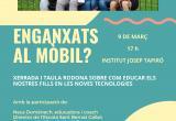 Taula rodona ús del mòbil joves d'entre 11 i 13 anys