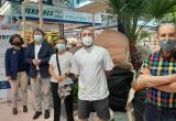 Presentació campanya de mecenatge al Mercat Central