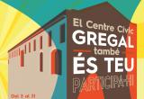 Cartell del procés participatiu de l'audiència pública en relació al futur Centre Cívic Gregal