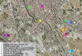 Plànol dels solars objecte de consultes al mercat per a la construcció d'habitatge social i dotacional