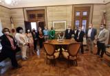 Recepció institucional a la consellera de Vicepresidència i Relacions Institucionals del Govern d'Aragó