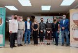 Foto de família de la presentació de Temps d'Avellana