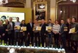 Imatge dels guardonats Premis CDO 2017 amb les autoritats