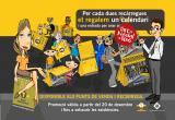 Reus Transport promociona les bones pràctiques als busos amb un calendari que regala als viatgers