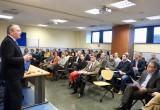 Imatge de l'acte de presentació de la Unitat de Mediació i Resolució de Conflictes de la Guàrdia Urbana de Reus